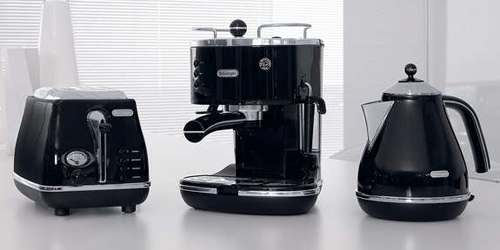 DeLonghi Icona Black Collection