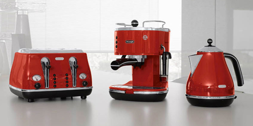 DeLonghi Icona Red Collection