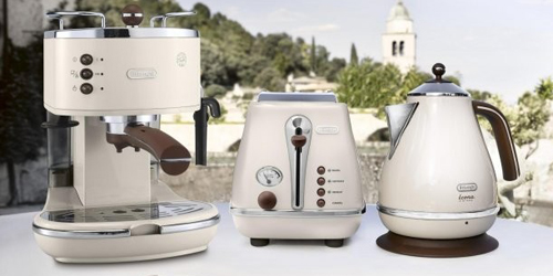 DeLonghi Icona Vintage Beige Collection