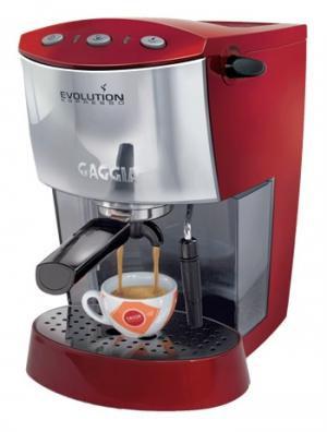 Рожковая кофеварка Gaggia Espresso Evolution Red